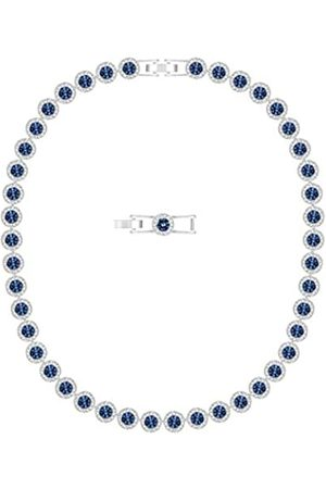 Swarovski Women's Rhodium Plated Crystal Angelic Necklace 5482698