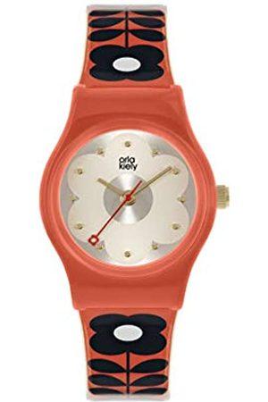 Orla Kiely Women's Analogue Analog Quartz Watch with Plastic Strap OK2326