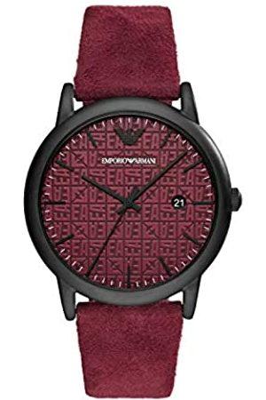 Emporio Armani Quartz Watch with Leather Strap AR11273