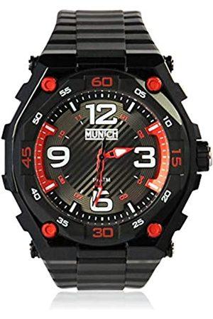 Munich Unisex Adult Analogue Quartz Watch with PU Strap MU+110.1A