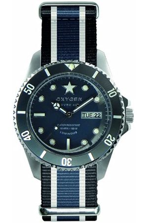 Oxygen Jean Unisex Quartz Watch with Dial Analogue Display and Nylon Strap