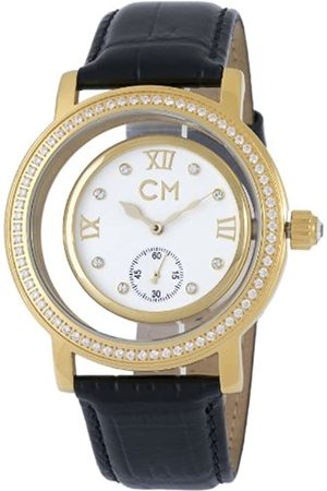 Carlo Monti Ladies Automatic Watch with Dial Analogue Display and Leather Strap CM104-282
