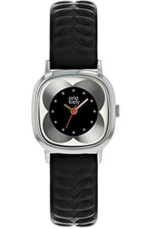 Orla Kiely Womens Analogue Classic Quartz Watch with Leather Strap OK2301