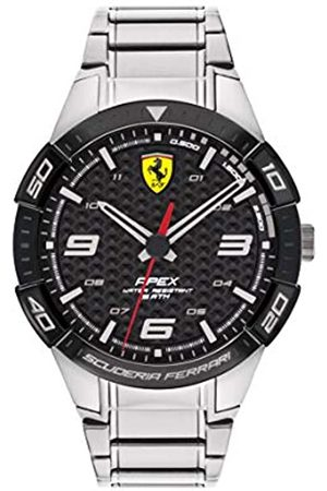 Scuderia Ferrari Mens Analogue Classic Quartz Watch with Stainless Steel Strap 0830641
