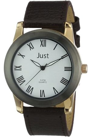 Just Watches Men's Quartz Watch 48-S10122RD-WH with Leather Strap