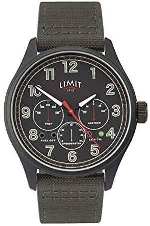 Limit Mens Analogue Classic Quartz Watch with Nylon Strap 5969.01