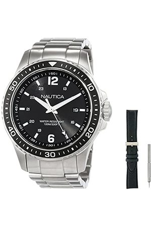 Nautica Men's Analogue Quartz Watch with Stainless Steel Strap NAPFRB014