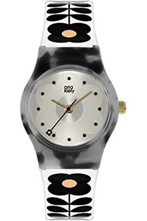 Orla Kiely Women's Analogue Analog Quartz Watch with Plastic Strap OK2324