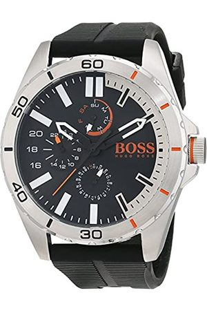 HUGO BOSS Orange Berlin Men's Quartz multi dial Silicone Strap 1513290