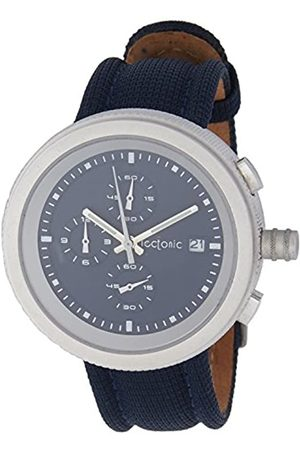 Tectonic Men's Quartz Watch with Dial and Leather Strap 41-6908-99