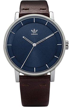 adidas Women's Analogue Quartz Watch with Leather Strap Z08-2920-00