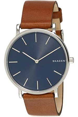 Skagen Men's Analogue Quartz Watch with Leather Strap SKW6446