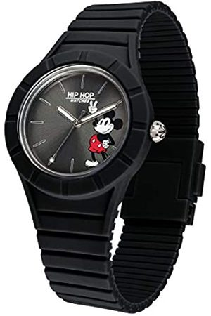 Hip Watches - Men's Disney Mickey Mouse Watch Special Edition Anniversary - Collection Mickey Man - Silicone Strap - Case 42mm - Waterproof