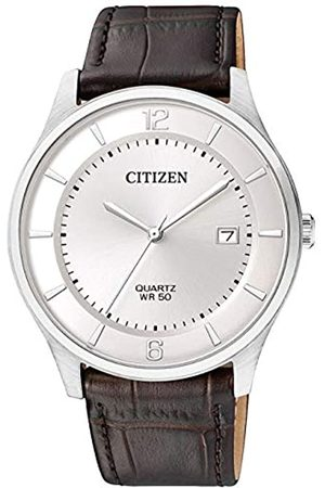 Citizen Mens Analogue Quartz Watch with Leather Strap BD0041-11A