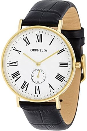 ORPHELIA Men's Quartz Watch with Leather Strap