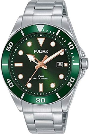 Pulsar Men's Analogue Quartz Watch with Stainless Steel Strap 8431242963617