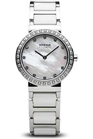 Bering Womens Analogue Quartz Watch with Stainless Steel Strap 10729-704