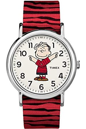 Timex Unisex x Peanuts - 38 mm Fabric Strap Watch TW2R41200