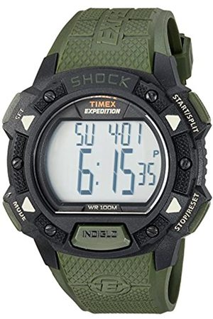 Timex Men's Expedition Base Shock LCD Dial with a Resin Strap Watch TW4B09300