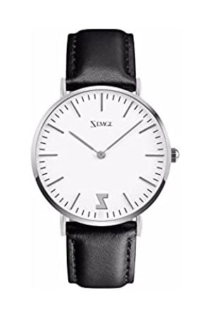 ZEMGE 36mm case Women Watches Ultra Thin Quartz Analogue Waterproof Wrist Watch Unisex Business Casual Simple Classic Design Dress Silver Tone Wristwatch with Stainless Steel Case DW Style ZC0604W