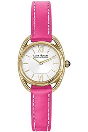 Saint Honore Women's Analogue Quartz Watch with Leather Strap 7210263AIT-PIN