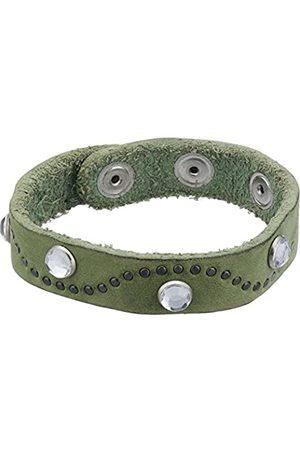 MGM Unisex Bracelet Brilliant 1 (Herstellergröße: one Size) Grün (Grün 12)