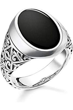 Thomas Sabo Men Silver Piercing Ring TR2242-698-11-62