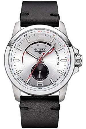 ELYSEE Unisex Adult Analogue Automatic Watch with Leather Strap 8057