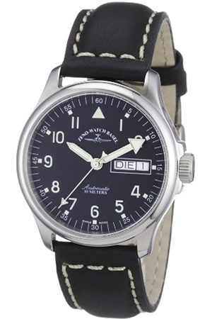 Zeno Men's Automatic Watch Basic 12836DDN-a1 with Leather Strap