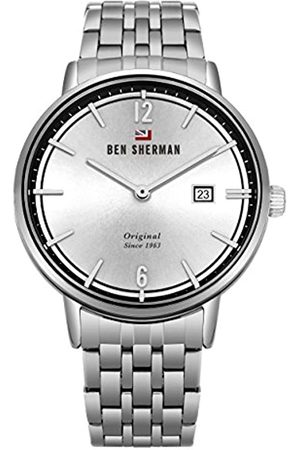 Ben Sherman Mens Analogue Classic Quartz Watch with Stainless Steel Strap WBS101SM