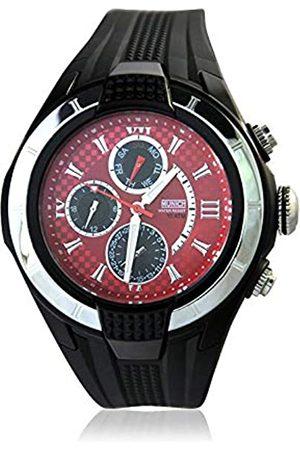 Munich Unisex Adult Analogue Quartz Watch with Rubber Strap MU+116.1B