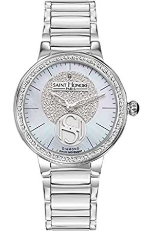 Saint Honore Women's Analogue Quartz Watch with Stainless Steel Strap 7621231YPAD