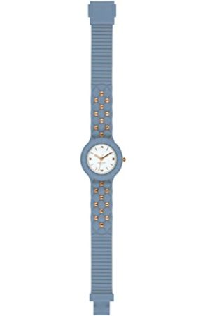 Hip HIP-HOP Ladys' Sweet Rebel Watch Collection Mono-Colour dial 3 Hands Quartz Movement and Silicon Strap HWU0848