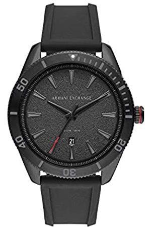 Armani Mens Analogue Quartz Watch with Silicone Strap AX1829