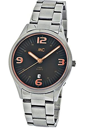 MC Men's Quartz Watch Edelstahl 27708 with Metal Strap