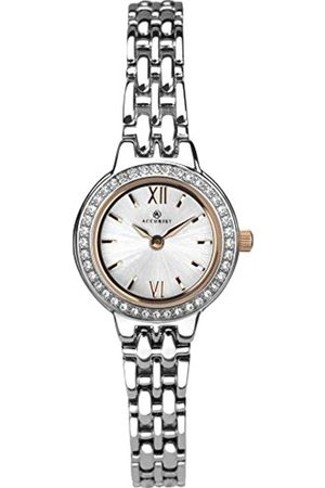 Accurist Womens Analogue Classic Quartz Watch with Brass Strap 8281
