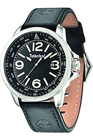Timberland Men's Quartz Watch with Dial Analogue Display and Leather Strap 14247JS/02