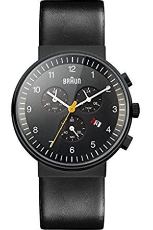 von Braun Men's Quartz Chronograph Watch with Leather Strap