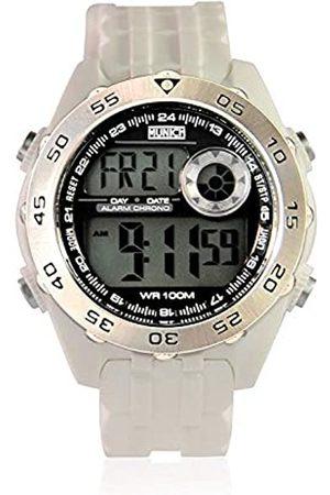 Munich Unisex Adult Digital Quartz Watch with PU Strap MU+111.7A