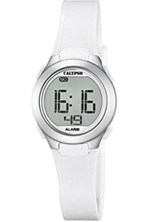 Calypso Unisex Digital Watch with LCD Dial Digital Display and Plastic Strap K5677/1
