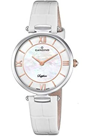 Candino Womens Analogue Classic Quartz Watch with Leather Strap C4669/1