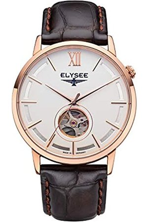 ELYSEE Unisex Adult Analogue Automatic Watch with Leather Strap 77012