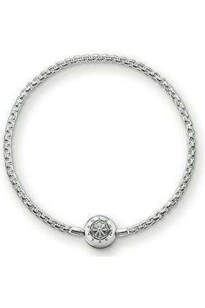 Thomas Sabo Women Men-Bracelet Karma Beads 925 Sterling Silver Length 23 cm KA0001-001-12-L24