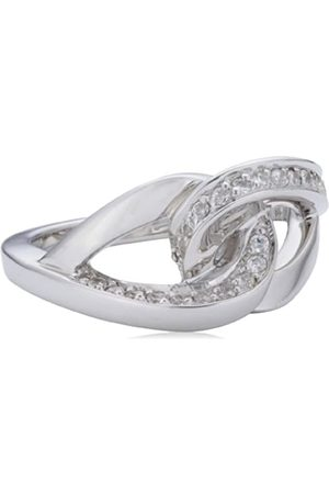 Viventy 764491/56 Women's Ring - 925/1000 Sterling Silver and Zirconium Oxide - 6.4 g Silver