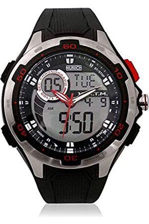 Munich Unisex Adult Digital Quartz Watch with Rubber Strap MU+129.1A