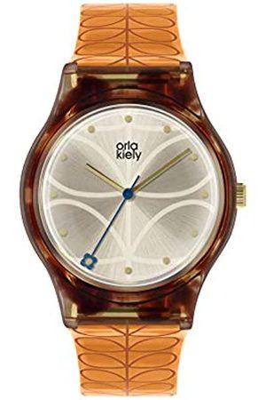 Orla Kiely Womens Analogue Classic Quartz Watch with Plastic Strap OK2308