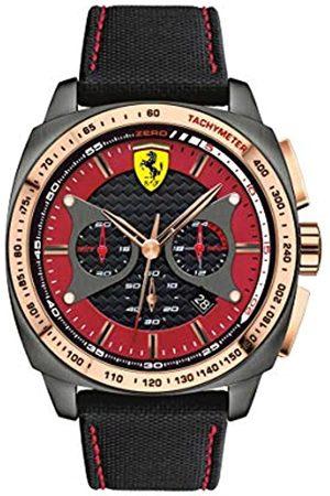Scuderia Ferrari Mens Analogue Classic Quartz Watch with Nylon Strap 0830294
