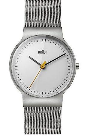 von Braun Women's Quartz Watch with Dial Analogue Display and Stainless Steel Bracelet BN0211WHSLMHL