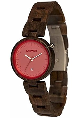 Laimer Wood watch NICKY – women's wristwatch made of 100% Sandalwood - simple elegance