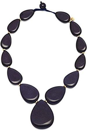 Lola Rose Belva French Navy Quartzite Necklace of 48cm